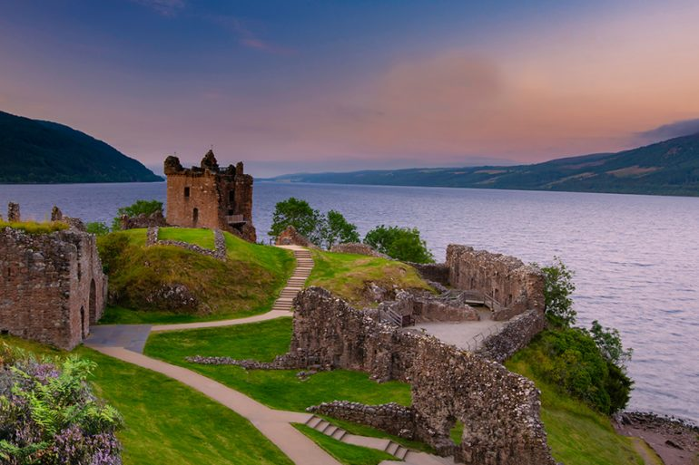 Loch Ness (Lago Ness), Escócia: casa de Nessie