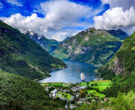 Geiranger, Noruega: fiorde ou conto de fadas