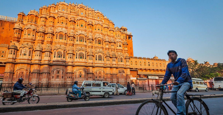 Palácio dos Ventos (Hawa Mahal), Jaipur, Índia