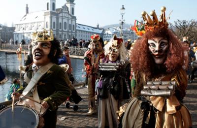 Viagem ao Carnaval de Lucerna   Pacotes de Viagem à Suíça