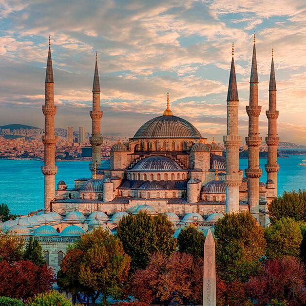 Mesquita-azul,-Turquia