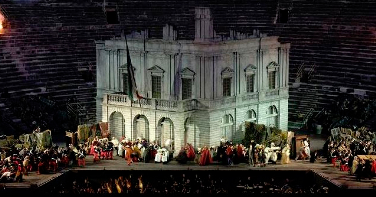 Festival de ópera Arena di Verona 2020 | Pinto Lopes Viagens