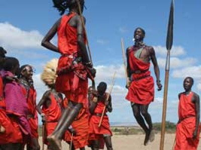 Tribo Masai, Viagem ao Quénia
